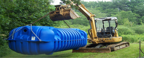 septic tanks never need emptying